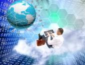 Internet technology — Stock Photo