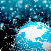Internet technology.Network — 图库照片