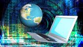 世代技術革新現代工学コンピューター技術 — ストック写真