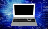 Industrial  computer technology — Stock Photo