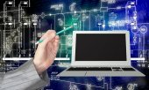 Innovative computer technology — Stock Photo