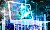 Engineering  computer technology — Stock Photo
