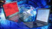 Globalization  computer technology — Stock Photo