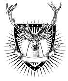 Bouclier de cerf — Vecteur