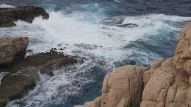Sea and Rocks Landscape — Stock Video