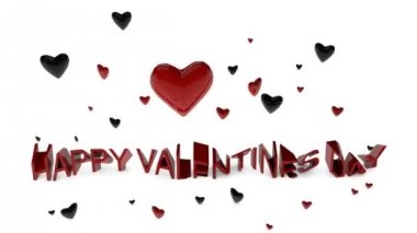 Happy Valentines day — Stock Video