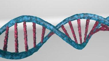 Genetic engineering scientific concept — Stock Video