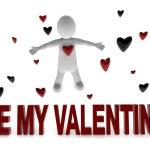 Be my valentine — Stock Photo #73799873