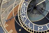 Astronomiska uret, prag. — Stockfoto