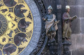 Astronomical clock calendar. — Stock Photo