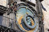 астрономические часы, пражский. — Стоковое фото