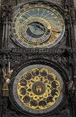 Orologio astronomico, praga. — Foto Stock