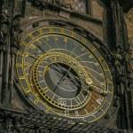 Astronomical clock, Prague. — Stock Photo #58825637