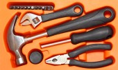 Tools box. — Stock Photo