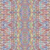 Multicolored checkered pattern on white as abstract background. — Stock Photo