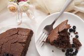 Cocoa banana cake — Stock Photo