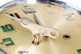 Gouden klok — Stockfoto