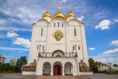 Кафедральный собор Троицы Живоначальной в Брянске — Stock Photo