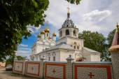 Peter and Paul Monastery. Church of Presentation of Mary, built in 1702. Bryansk. Russia. — Stock Photo