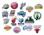 Nba teams — Stock Photo