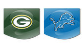 Packers vs lions — Stock Photo