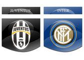 Juventus vs inter — Stock Photo