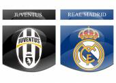 Juventus vs real madrid — Stock Photo