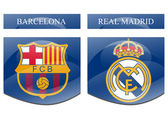 Barcelona vs real madrid — Stockfoto
