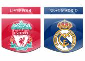 Liverpool vs real madrid — Stock Photo