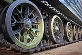 Tank track — Stockfoto