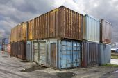 Old Containers — Stock Photo