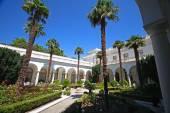 Italian courtyard of Livadia Palace — Stock Photo