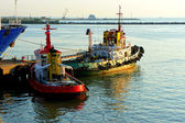 Two tugboats — Stock Photo