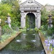 Fountain in the gardens of Arundel castle — Stock Photo #59982623