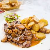 Viande de boeuf steak juteux — Photo