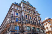 Viennese Classical style building on July 3, 2014.Vienna, Austri — Stock Photo
