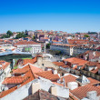 Old Town Lisbon on May 11, 2014. street view of typical houses i — Stock Photo #54620423