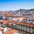 Old Town Lisbon on May 11, 2014. street view of typical houses i — Stock Photo #54621105
