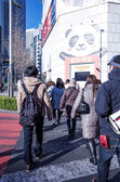 Street view of Shinjuku — Stock Photo