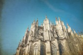 Ansicht der gotischen kathedrale in köln — Stockfoto