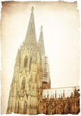 View of Gothic Cathedral in Cologne — Stock Photo