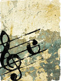 Grunge melody textures  — Stock Photo