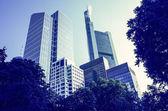 Frankfurt am main, deutschland. — Stockfoto