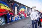 Berlin Wall East Side Gallery — Stock Photo