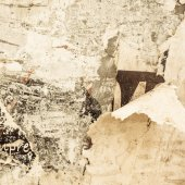 Old posters grunge textures  — Stock Photo