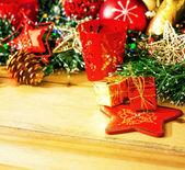 Edad antigua decoración de navidad — Foto de Stock