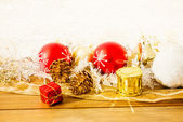Old  christmas decoration — Foto de Stock