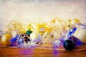 Old  christmas decoration — Stock Photo