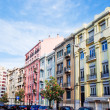 Beautiful street view of historic architectural in Lisbon — Stock Photo #58599409