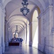 Beautiful street view of historic architectural in Lisbon — Stock Photo #58599865